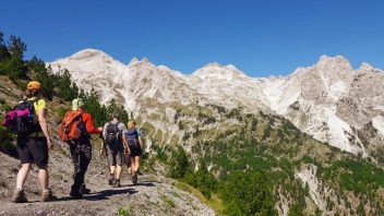 Peaks of the Balkans Trail - Valbona Pass Albania